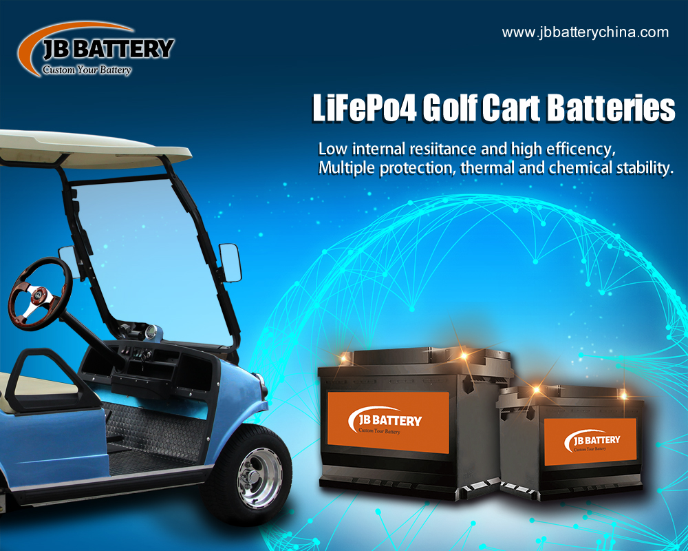 Fabricante de la batería del carro de golf LifePO4 de China (36)